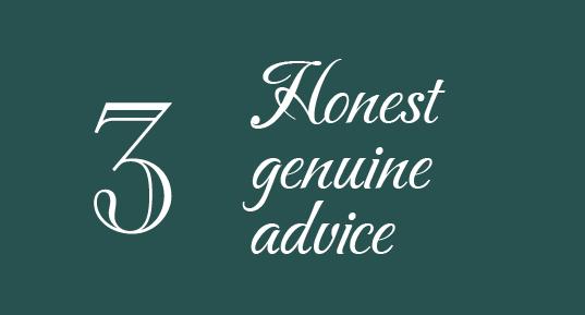3 Honest genuine advice