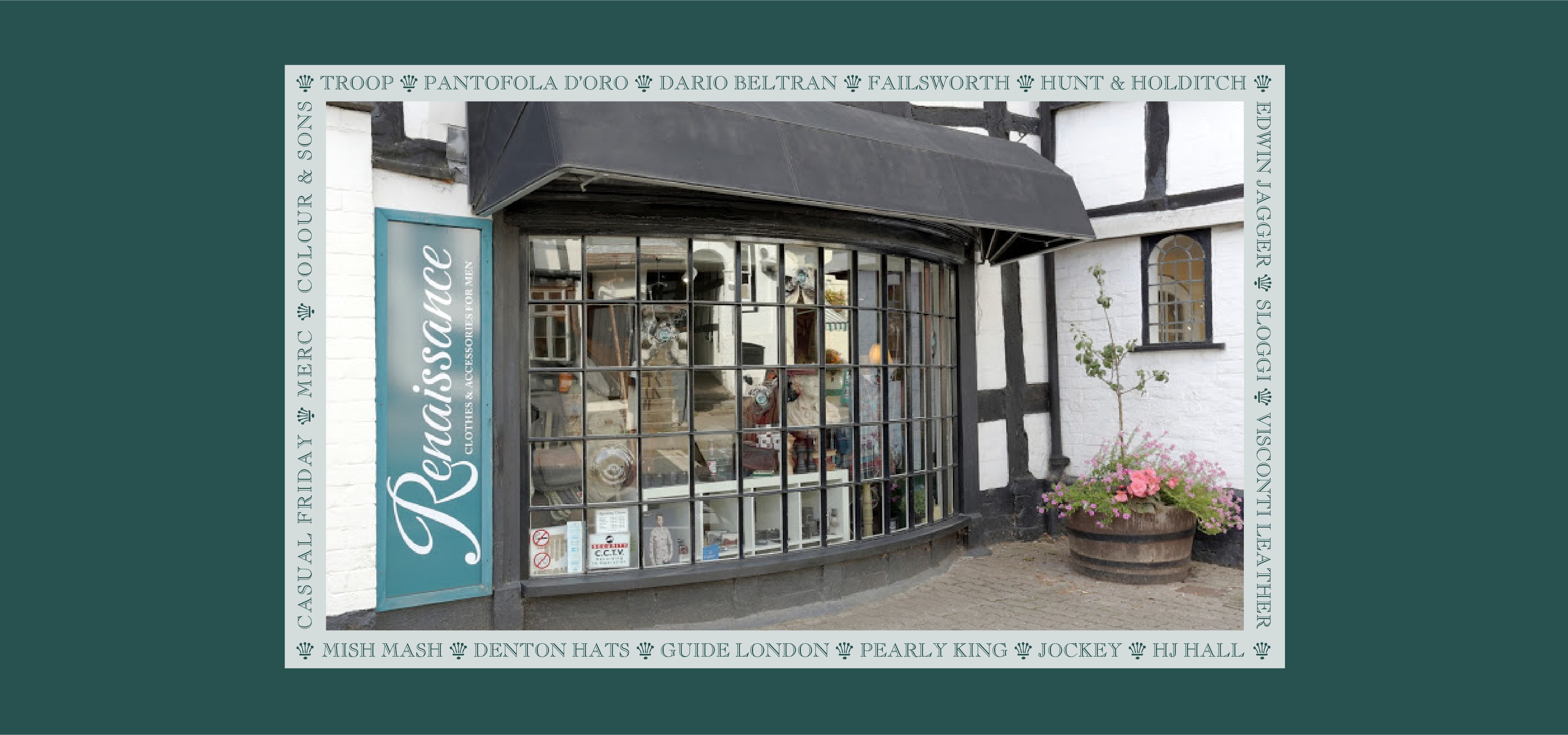 Renaissance Menswear Homend Ledbury
