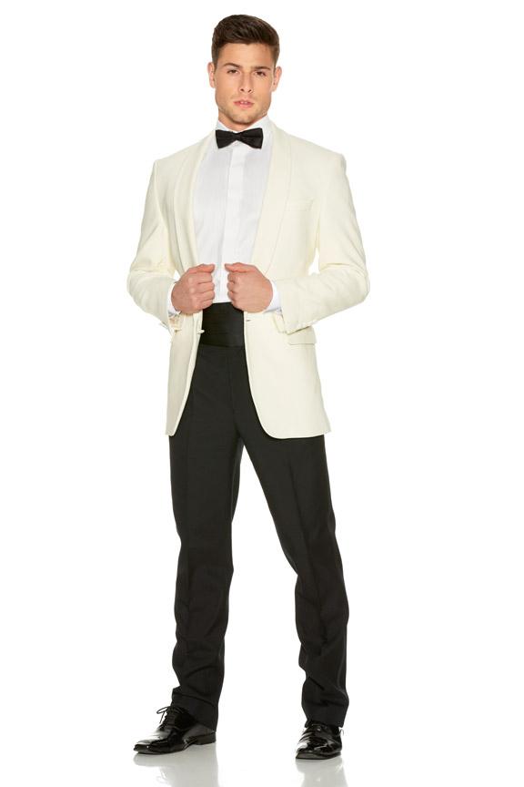 Evening Wear White Tuxedo