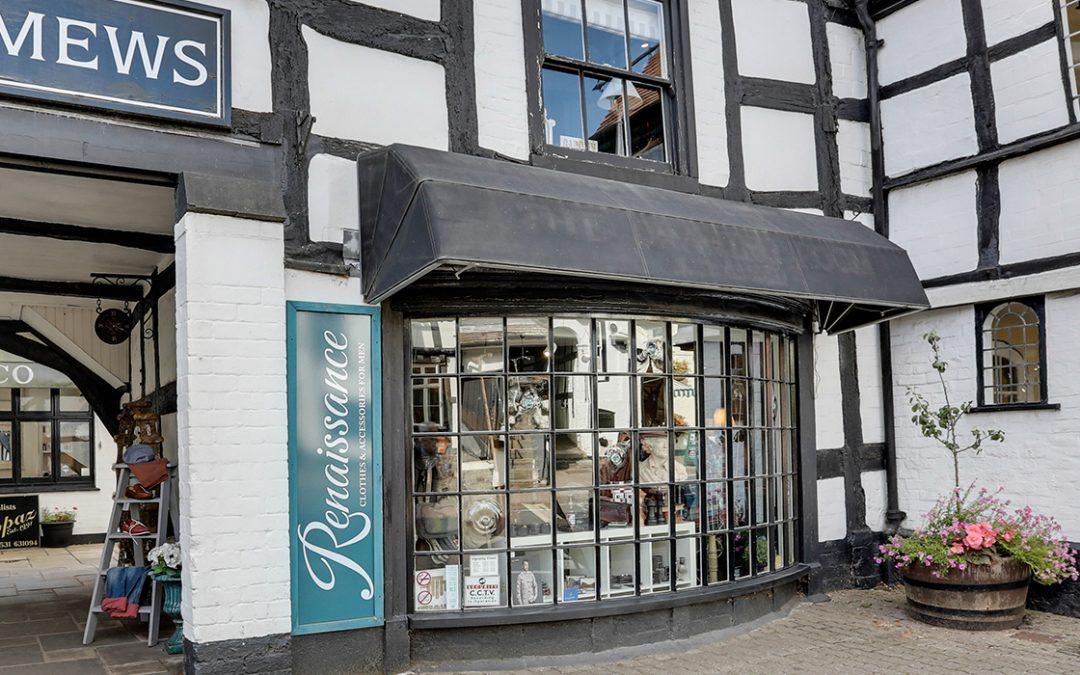 Renaissance Menswear Ledbury is Re-Opening Monday 15th June
